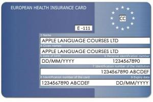 Europese Gezondheidskaart Europese Health Insurance Card