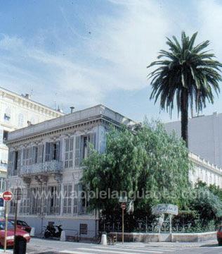 Onze hoofdschool in Nice