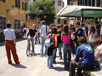 Street scene in Pisa