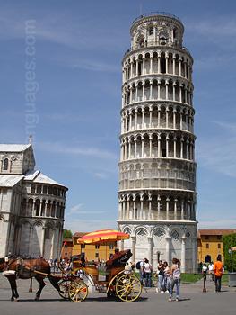 De beroemde scheve toren