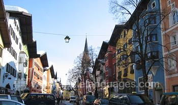Kitzbuhel is een prachtige locatie