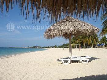 Het strand, Trinidad