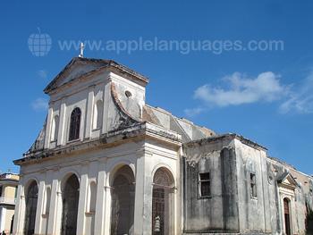 Een kerk in Trinidad