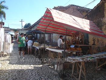 Straatmarkt, Trinidad