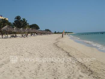 Het strand in Trinidad