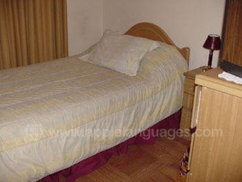 Typerende slaapkamer bij een gastgezin