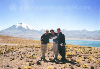 Geweldige bergen in Chili!