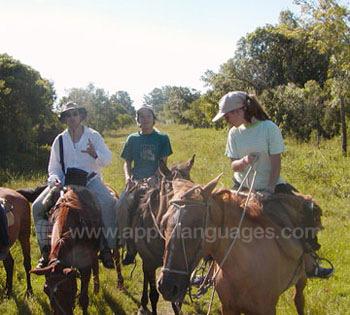 Paardrijden is iets onschuldiger!