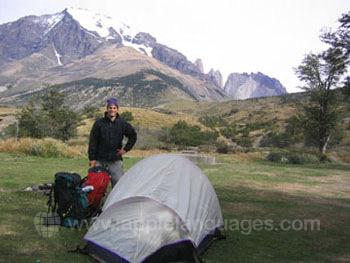 Een kampeer uitje
