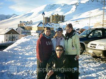 Gezellig samen ski?n!