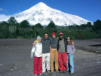 Chili heeft ook met sneeuw bedekte vulkanen!