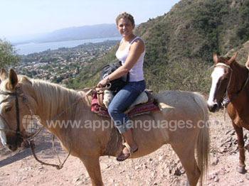 Paardrij excursie
