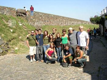 Excursie naar het locale fort