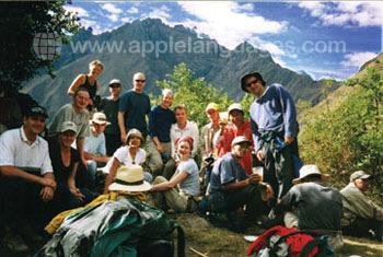 Excursie naar het Andes gebergte