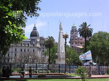 Stadscentrum van Buenos Aires
