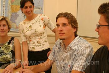 Vriendelijke Spaanse docenten