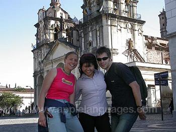 Studenten in Cordoba