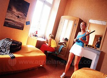 Een kamer in de residentie