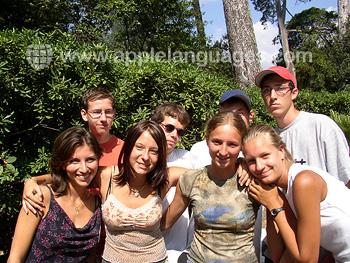 Studenten van onze school