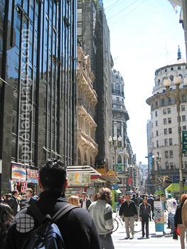 Street scene, Buenos Aires