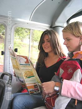 Studenten die Buenos Aires ontdekken