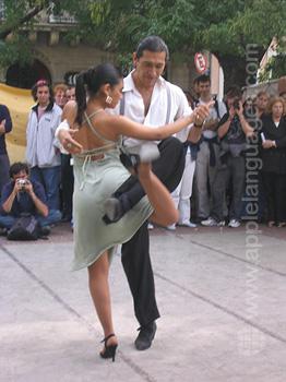 Spaans en tango, Buenos Aires