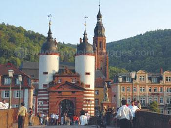 Spectaculaire architectuur in Heidelberg