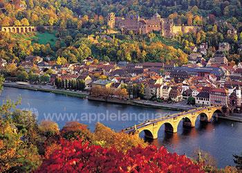 Kleurrijk Heidelberg