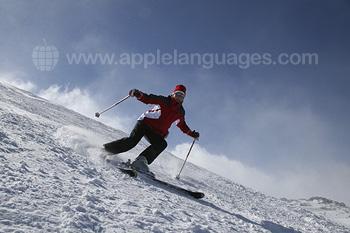 Je kan er uitstekend ski?n!
