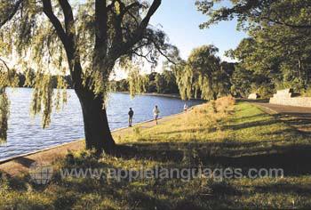 Joggen in Montreal Park