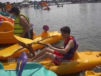 Voorbereiden op het kano