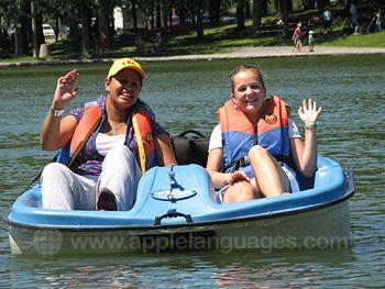 Plezier op het water