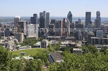 Montreal tijdens de zomer