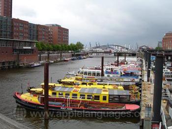 Hamburg heeft vele kanalen