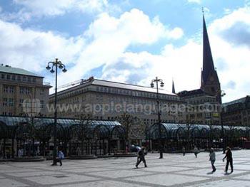 Het centrale plein