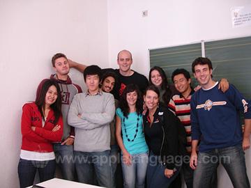 Studenten op onze school
