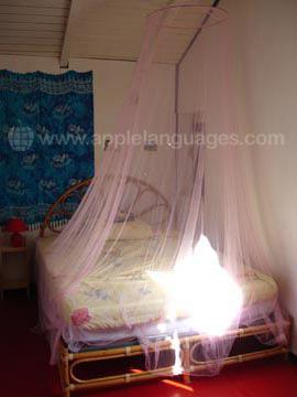 Studenten slaapkamer, gastgezin