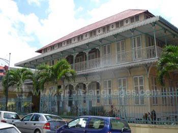 Historisch gebouw in Pointe-?-Pitre