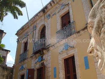 'Prachtige koloniale architectuur