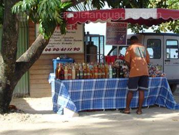 Lokaal marktkraampje