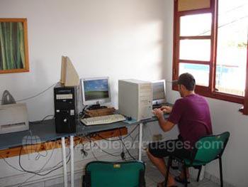 Internetcafe op onze school