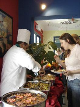 Lunch op onze school