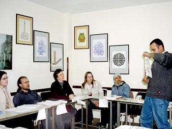 Arabische les op onze school
