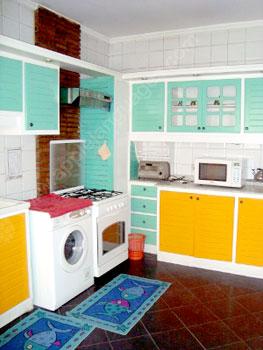 Keuken in de residentie