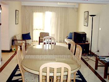 Lounge en eetruimte in de residentie