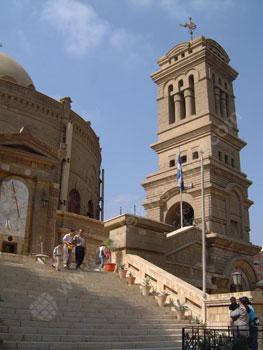 Het Koptische gebied van Ca?ro