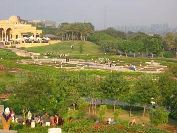 Al Azhar Park in Ca?ro