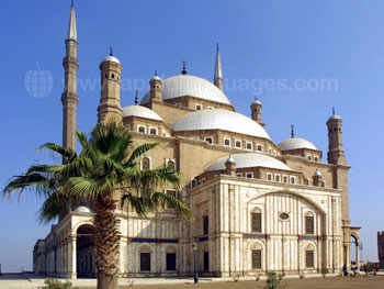 De moskee van Muhammad Ali in Ca?ro