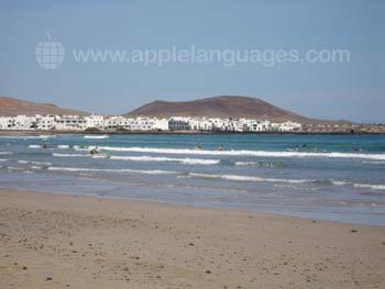 La Santa strand