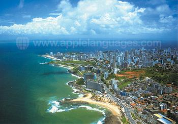 Luchtfoto van Salvador
